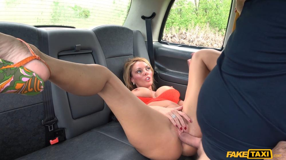 FakeTaxi – Sex addict fucks in taxi – Stacey Saran