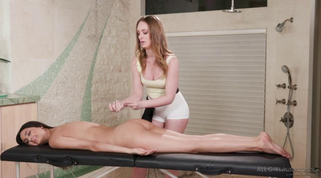 AllGirlMassage – Massage While You Wait – Eliza Ibarra And Daisy Stone
