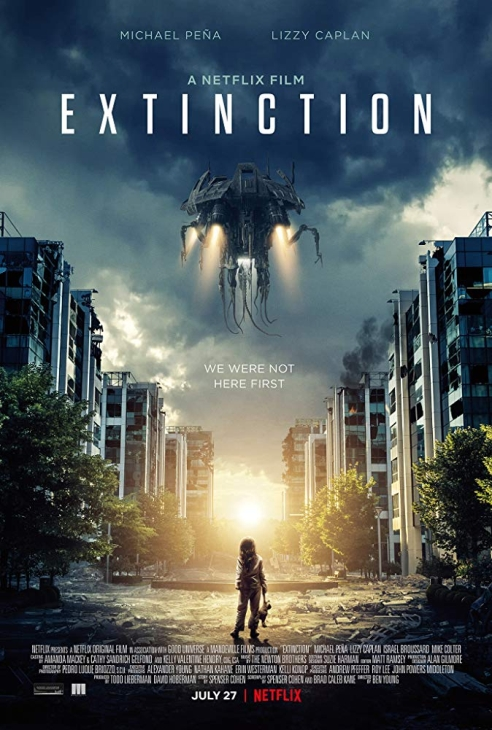 Zagłada / Extinction (2018)  PL.480p.NF.WEB-DL.AC3.Xvid-MR / Lektor PL