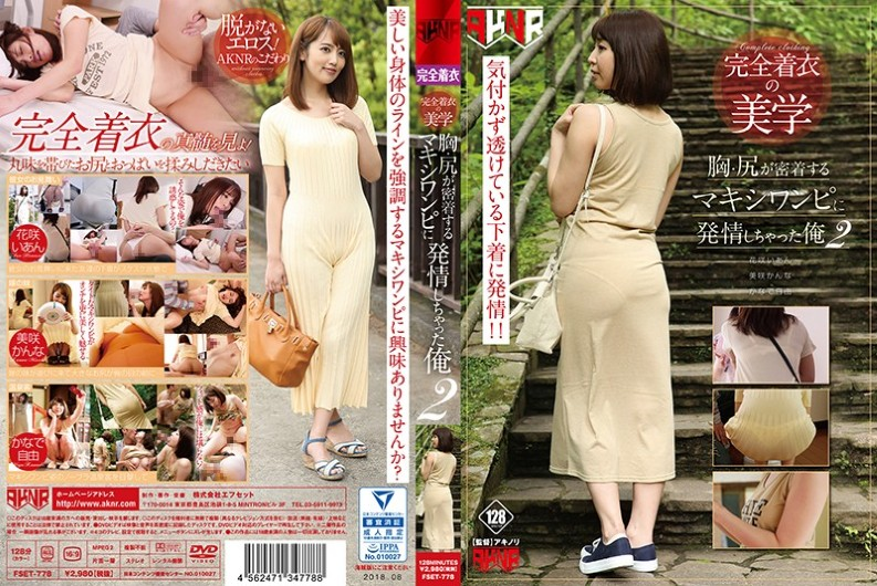 FSET-778 Completely Wearing Aesthetics Breast And Butt Get Stuck In Maxi Dress I Got Jestled 2