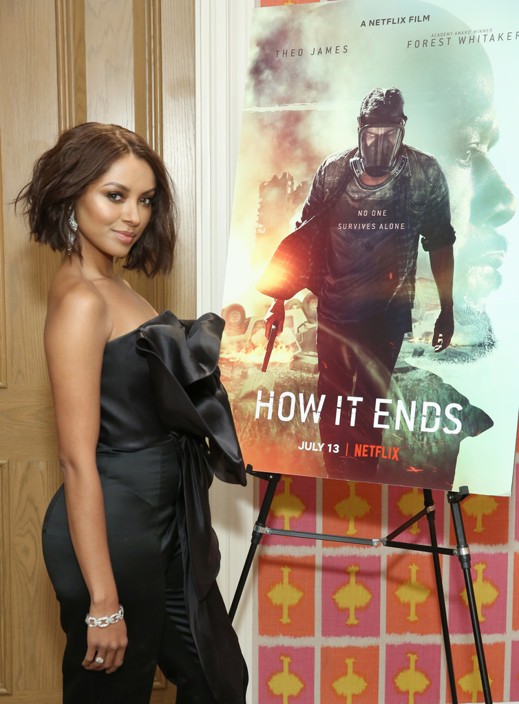 "Kat Graham – ""How It Ends"" Screening hosted by Netflix in NYC – 7/10/18"